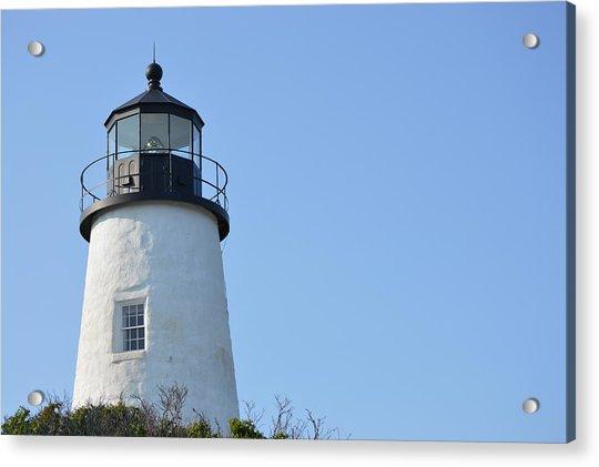 Lighthouse On Clear Day Acrylic Print