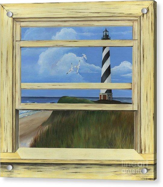 Lighthouse Window Acrylic Print