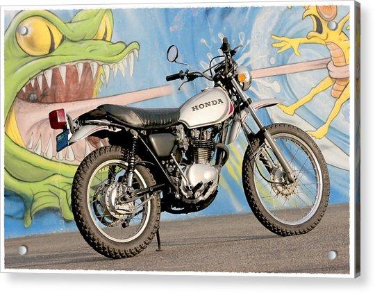 Little Honda On Highway One Acrylic Print