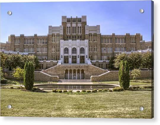 Acrylic Print featuring the photograph Little Rock Central High School by Jason Politte