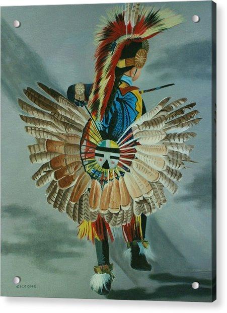 Little Warrior Acrylic Print