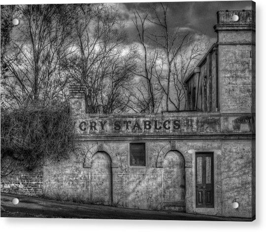 Livery Stables Acrylic Print