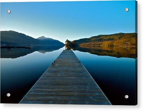 Loch Lomond In The Morning Acrylic Print