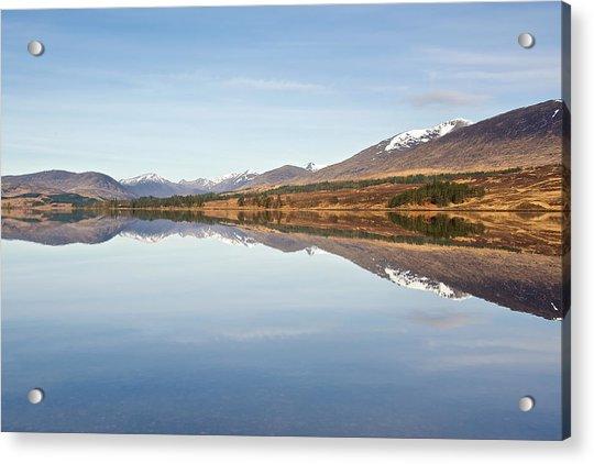 Loch Tulla In Spring Acrylic Print