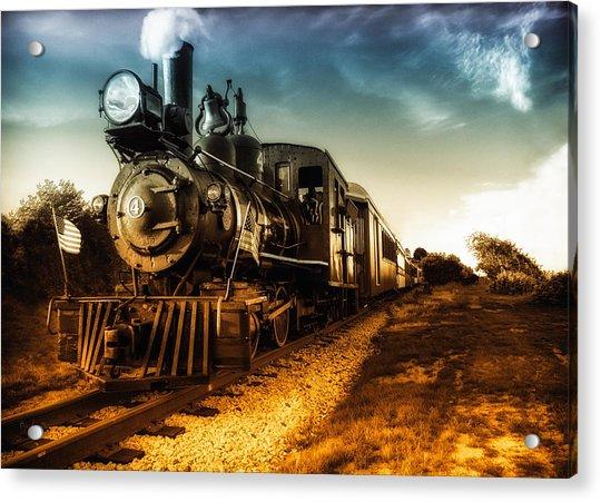 Locomotive Number 4 Acrylic Print