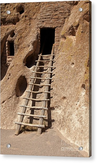 Long House Front Door Bandelier National Monument Acrylic Print