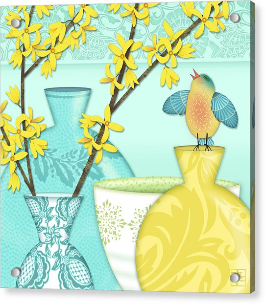 Looking For Spring Acrylic Print