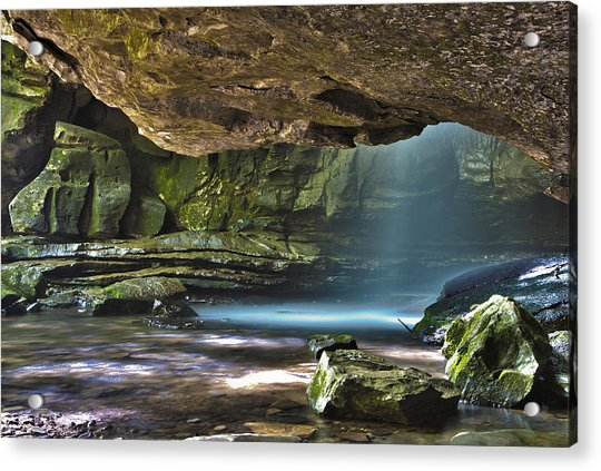 Lost Creek Falls Acrylic Print