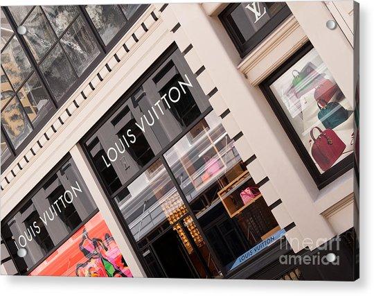 Louis Vuitton 02 Acrylic Print