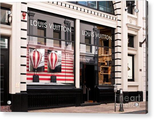 Louis Vuitton 04 Acrylic Print