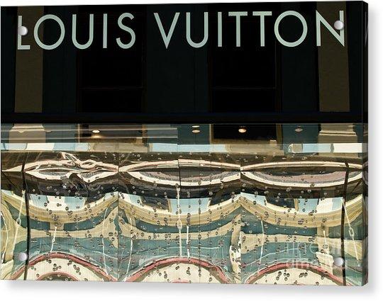Louis Vuitton Acrylic Print