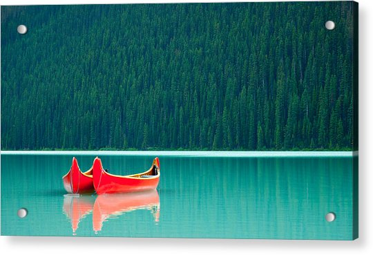 Louise Reflection Acrylic Print
