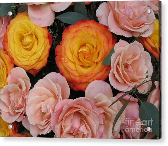 Love Bouquet Acrylic Print