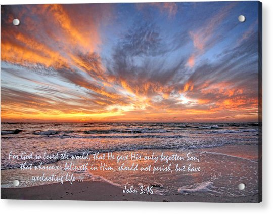 Love Personified Acrylic Print