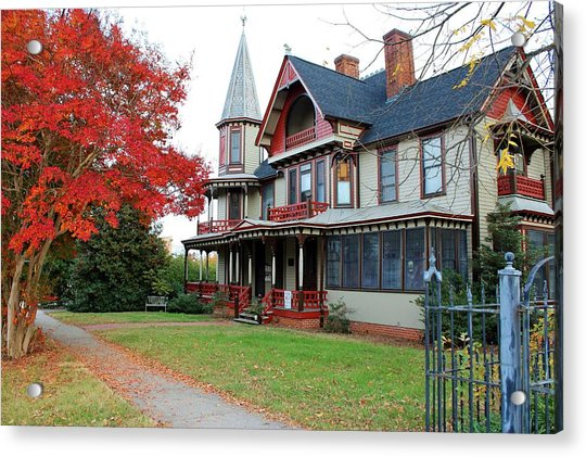 Acrylic Print featuring the photograph Lowenstein-henkel House by Cynthia Guinn