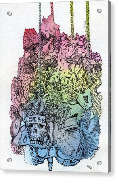 Lucid Mind - 11 Acrylic Print