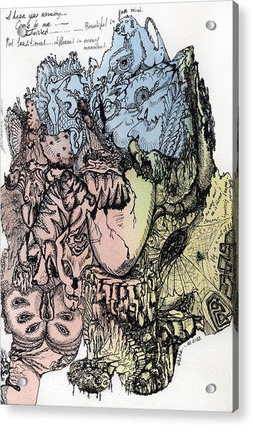 Lucid Mind - 3 Acrylic Print