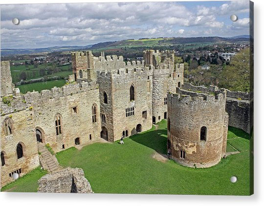 Ludlow Castle Chapel And Great Hall Acrylic Print