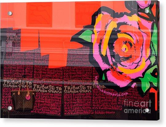 Lv Bag Acrylic Print