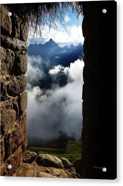 Machu Picchu Peru 4 Acrylic Print