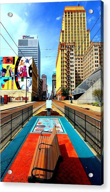 Madison's Memphis Acrylic Print