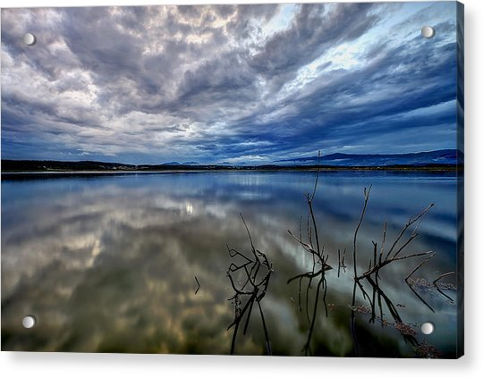 Magical Lake Acrylic Print