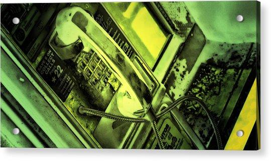Make The Call Acrylic Print