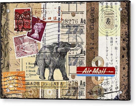 Mammoth Mail Acrylic Print