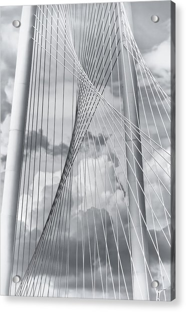 Margaret Hunt Hill Bridge Acrylic Print