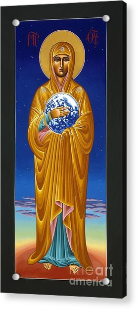Mary Most Holy Mother Of All Nations 080 Acrylic Print
