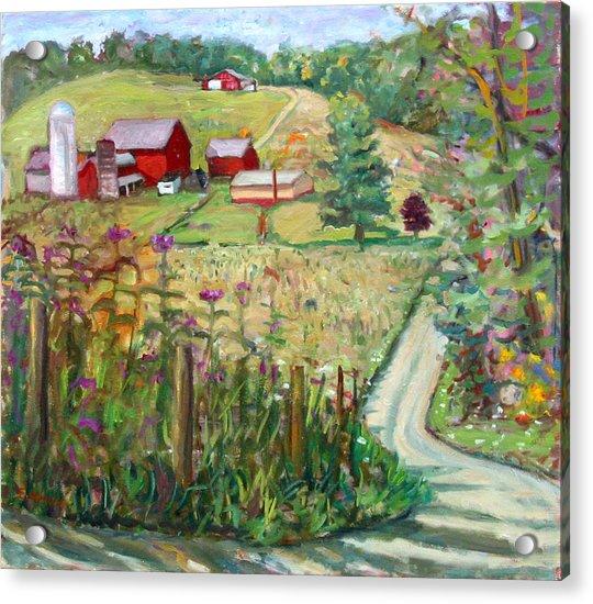 Meadow Farm Acrylic Print