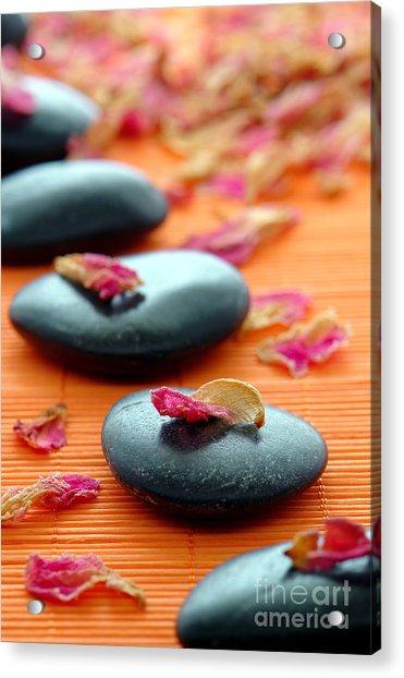 Meditation Zen Path Acrylic Print
