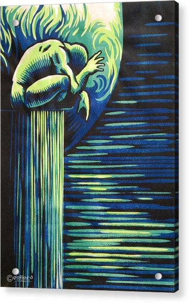 Melancholy Acrylic Print