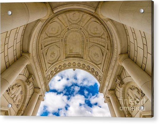 Memorial Amphitheater Arlington National Cemetery Acrylic Print