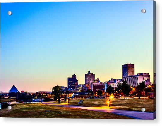 Memphis Morning - Bluff City - Tennessee Acrylic Print