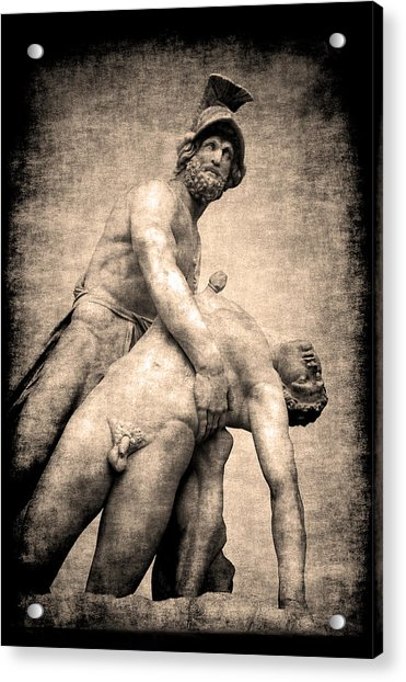 Menelaus And Patroclus In Florence Acrylic Print