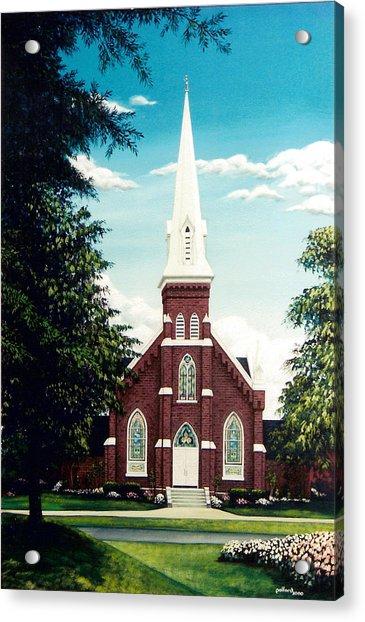 Methodist Church Acrylic Print