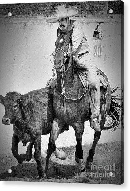 Mexican Cowboy Acrylic Print