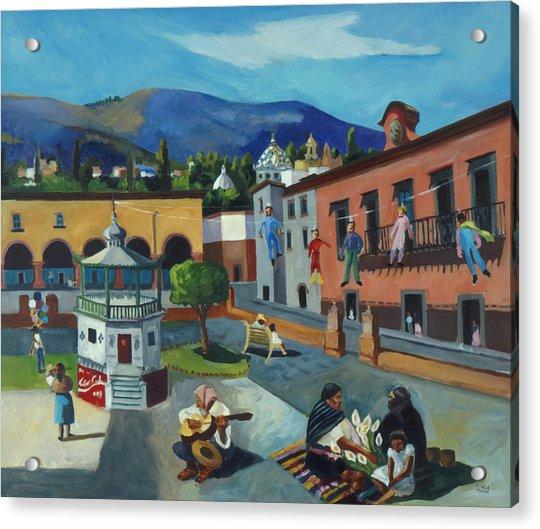 Mexican Memories Of San Miguel Acrylic Print