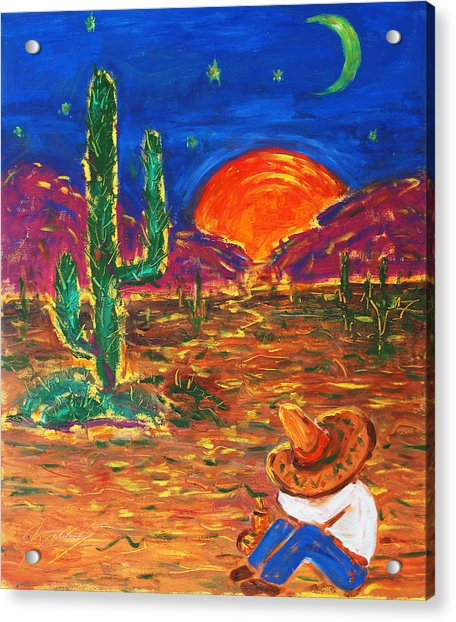 Mexico Impression IIi Acrylic Print