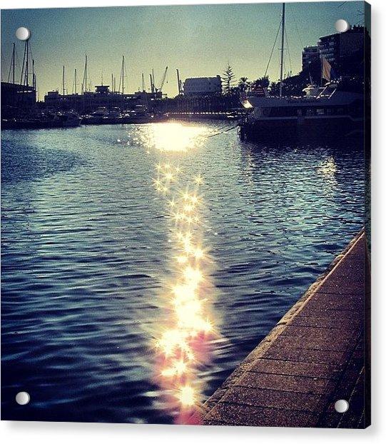 #mgmarts #spain #alicante #sea #seaside Acrylic Print
