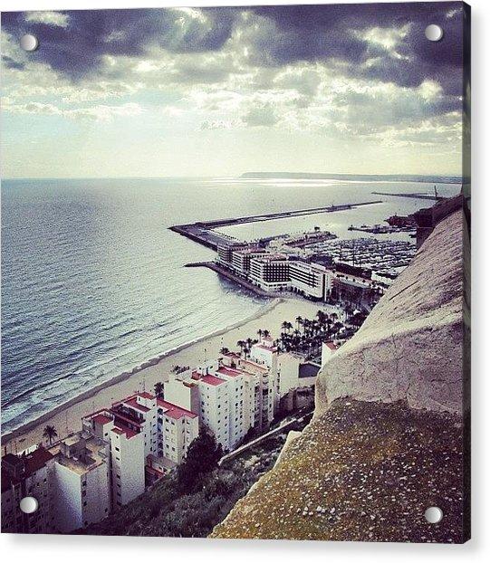 #mgmarts #spain #seaside #sea #view Acrylic Print