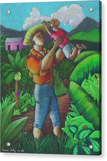 Mi Futuro Y Mi Tierra Acrylic Print
