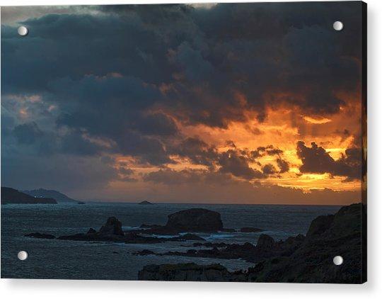 Mirandas Islands Galicia Spain Acrylic Print