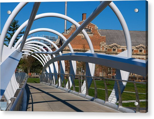 Modern Bridge  Acrylic Print