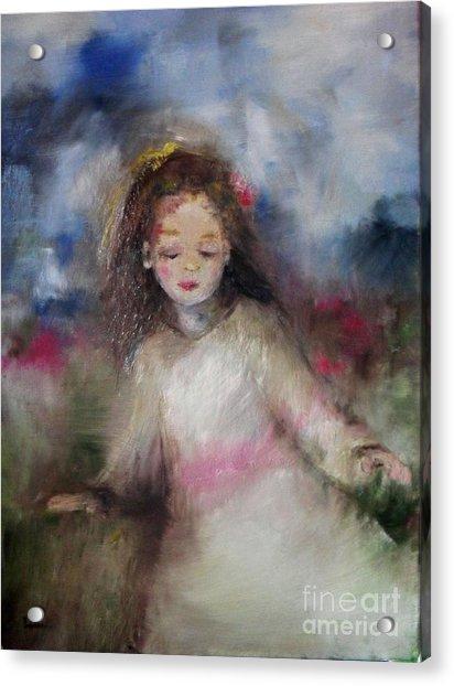 Mommy's Little Girl Acrylic Print