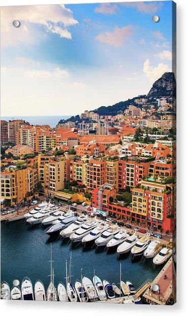Monaco - Exclusive Parking Acrylic Print