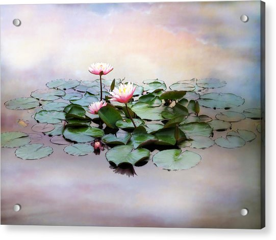 Monet Lilies  Acrylic Print