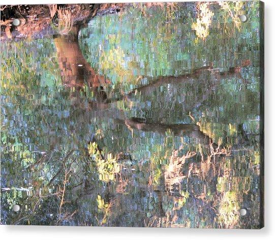 Monets Mississippi Acrylic Print