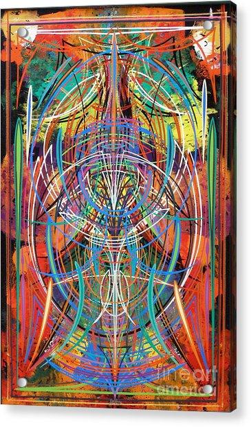 Monk's Maze Acrylic Print